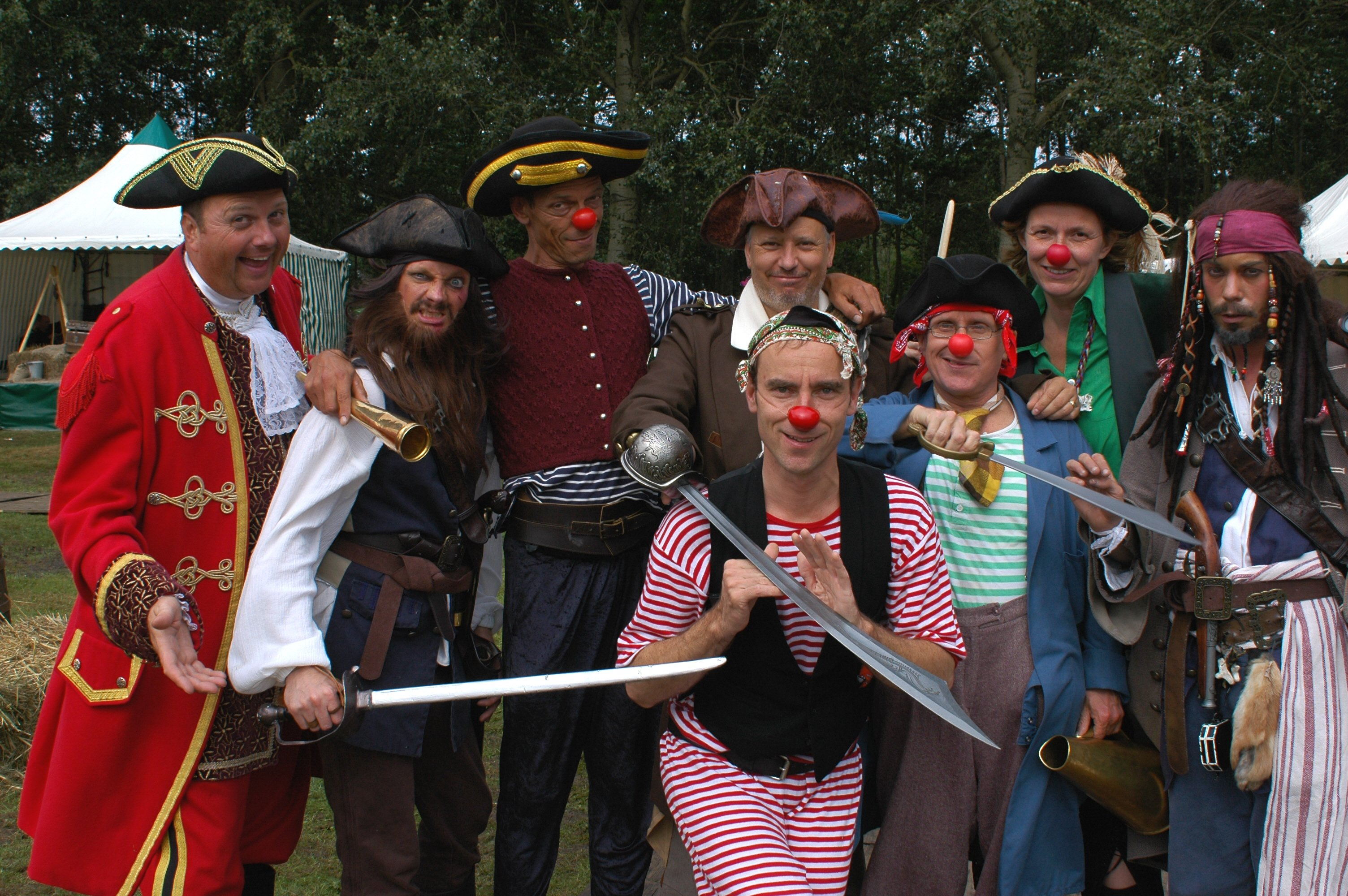 CliniClowns organiseert Piratendag