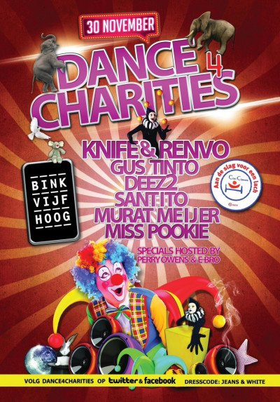 dance for charities