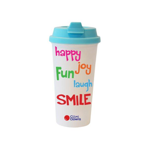 Koffiebeker Helderblauw Engels