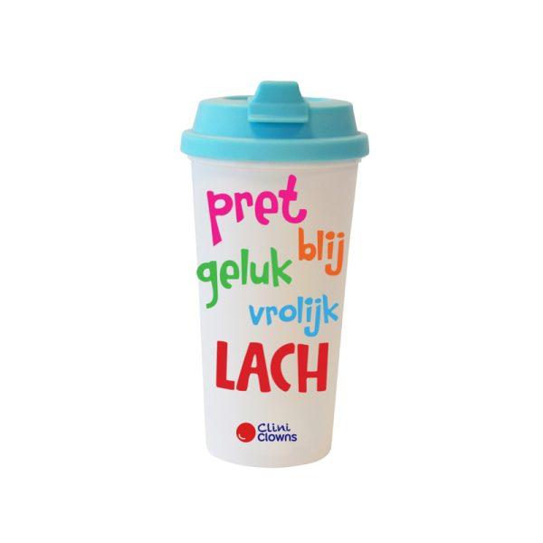 Koffiebeker Helderblauw Nederlands